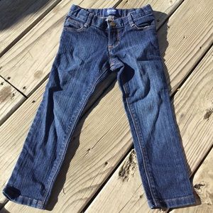 Old Navy Skinny Blue Jeans Size 4T